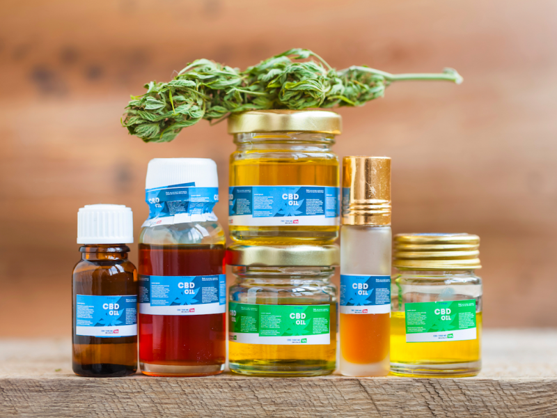cbd oil product lineup